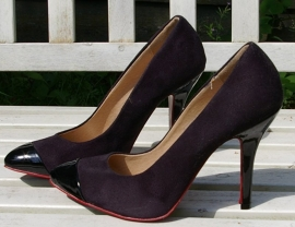 Claudia Ghizzani zwarte high heels-39
