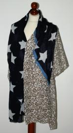 Pieces sterren sjaal