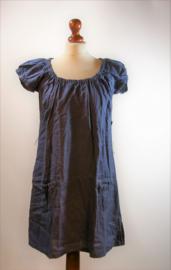 Jackpot blauwe jurk-34
