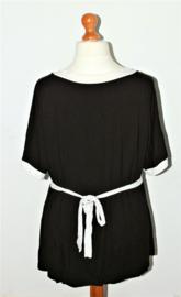Yoek zwart-witte tuniek- XL