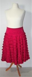 Cora Kemperman roze ruchesrok-XL