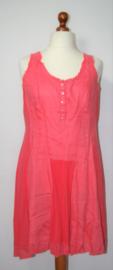 Didi koraalrode jurk-XXL