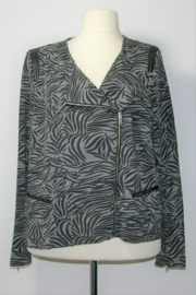 MS zwart/grijs jasje-50