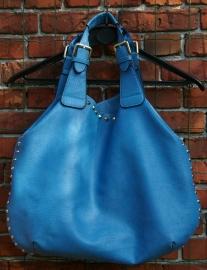 Dessus blauwe tas