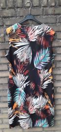 Batida bladerprint jurk-5