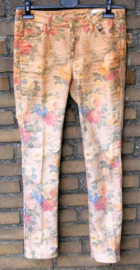 Chino & Friends bloemen broek-27