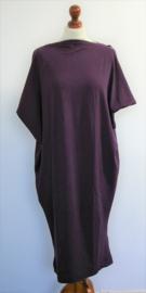 Cora Kemperman paarse jurk-S