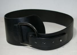 Zwarte brede riem-Size 85