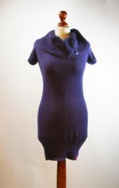 EDC blauwe jurk - XS