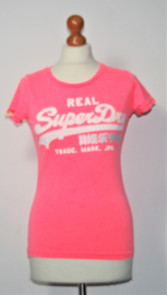 Superdry roze t-shirt-XS