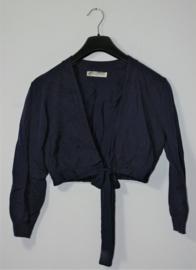 Winck blauw vestje-XL
