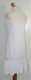 Watch witte strapless jurk-34