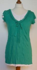 G-Ladies groen shirt-S/M