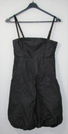 Only zwarte strapless jurk-34