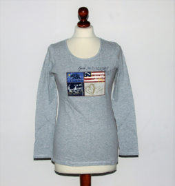 Esprit grijs shirt-S