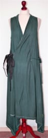 Rimini petrolblauwe jurk-3