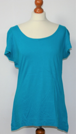 Cora Kemperman blauw shirt-XL