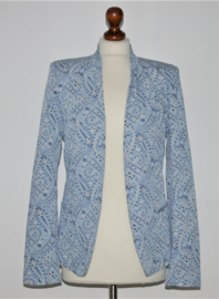 Supertrash blauwe colbert-36