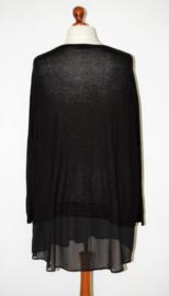 H&M zwarte trui-50