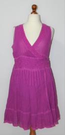 Didi paarse overslagjurk-XL