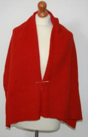 Cora Kemperman rood/oranje sjaal-M