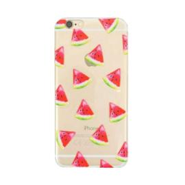 Softcase telefoonhoesje Iphone 6 Plus meloen