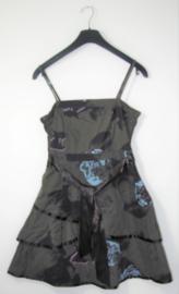 Eksept grijs/blauw jurkje-L