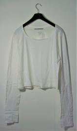Cora Kemperman wit shirt-XXL