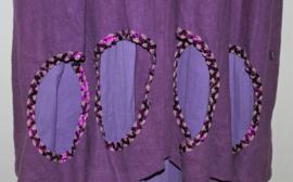 Art paarse jas-L