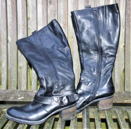 Freeflex zwarte lange laarzen-38