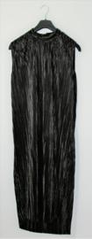 H&M zwarte plissé jurk- 2XL