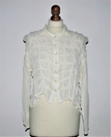 Cora Kemperman witte blouse-S
