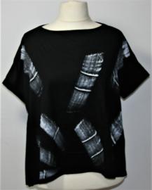 Xuan Jie zwart tshirt-XXL