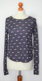 H&M blauw shirt-36