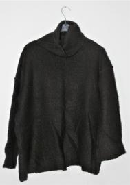 Cora Kemperman zwarte trui-L
