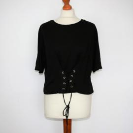 Zara zwart shirt-L