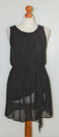 H&M zwarte jurk-36