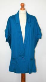 Cora Kemperman blauwe colbert- XL