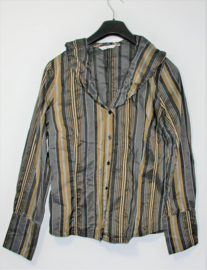 Miss Etam gestreepte blouse-36