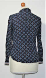 H&M blauwe blouse-XXS