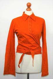 Cora Kemperman oranje shirt-L
