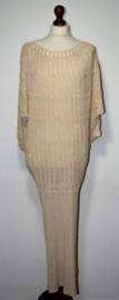 Saint Tropez goudkleurige jurk-S