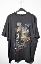 Zara zwart Mickey Mouse t-shirt-L