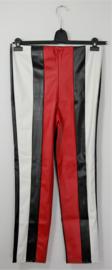 Boohoo zwart/rood/witte broek-44