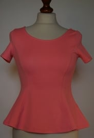 Divided roze top-S