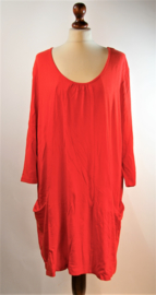 Anna Aura oranje jurk-52