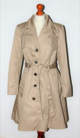 H&M beige trenchcoat-42