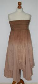 Sara Kelly strapless bruine jurk-34/36