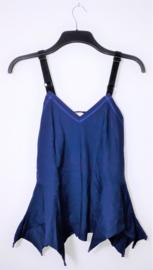 Cora Kemperman blauwe top-L