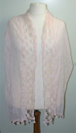 Roze sjaal